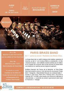 Concert et Master class - Beauquesne (80) @ Au Flot du Bac | Beauquesne | Hauts-de-France | France