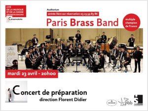 Concert de préparation EBBC - Soissons (02) @ Auditorium de la cité de la musique et de la danse GrandSoissons
