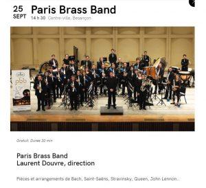 Concert Besançon @ Place Granvelle