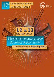 Championnat de France de Brass Band @ Théâtre Charles Dullin