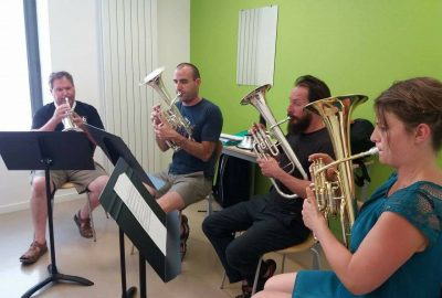 Festival Brass Band en Bourgueillois 2017